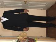 Продаю костюм черный пр-во Египет б/у костюм коричневого перламутового