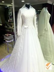 свадебное платье gelin toý koýnegi